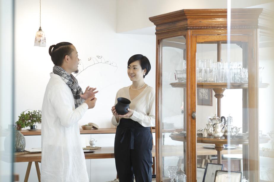 高橋周也さん(左)と永松仁美さん(右)。お二人は同齢だそう。