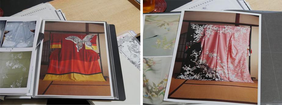 作品名:左「夜ニサク華」、右「輪廻の桜」