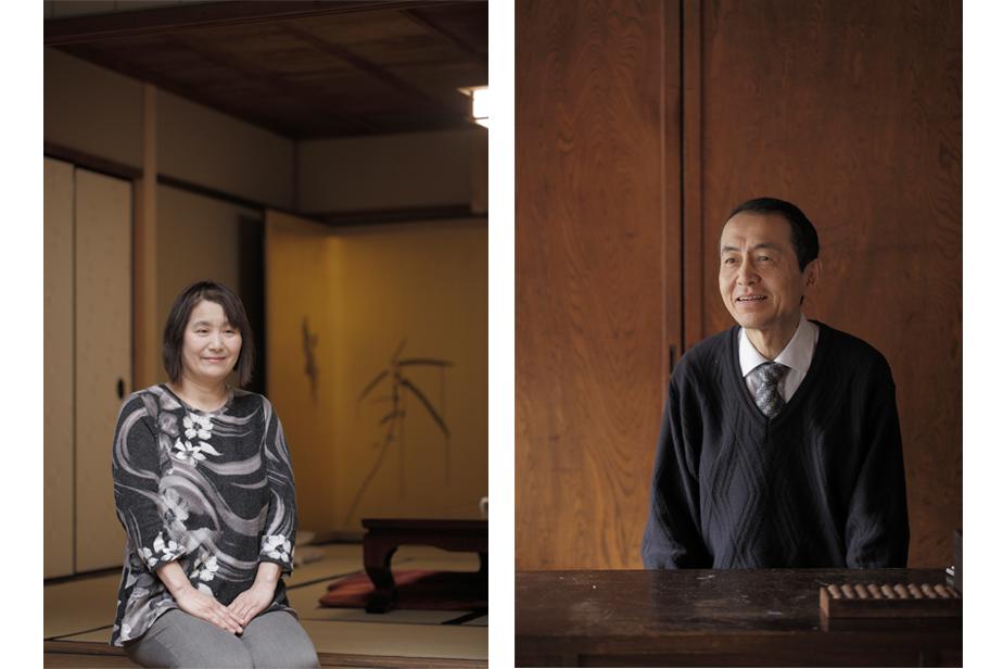 左は母の大西優子さん、右は父の大西久雄さん